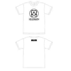 永井真理子 / Tシャツ(ホワイト)