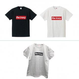 the irony / BOXロゴ Tシャツ