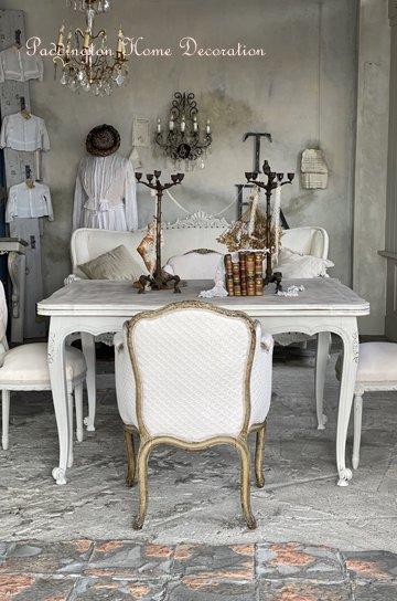 ルイ15世フレンチアンティークテーブル T20109