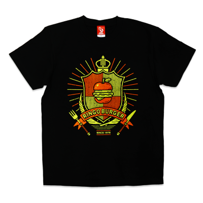 <img class='new_mark_img1' src='https://img.shop-pro.jp/img/new/icons15.gif' style='border:none;display:inline;margin:0px;padding:0px;width:auto;' />RINGO BURGER Tシャツ☆☆☆