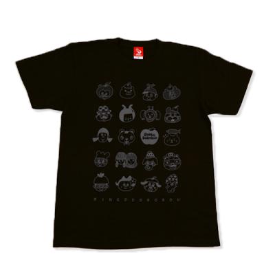顔いっぱい2021!!Tシャツ☆☆☆【スモークブラック】