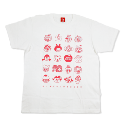 顔いっぱい2021!!Tシャツ☆☆☆【ホワイト】