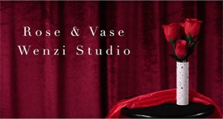 Rose & Vase by Bond Lee & Wenzi Magic【フラッシュコットン付属】