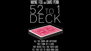 The 52 to 1 Deck by Wayne Fox and David Penn