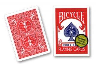 バイシクル・ゴールドスタンダード Bicycle Playing Cards (Gold Standard)赤