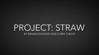 Project Straw(ダウンロード)