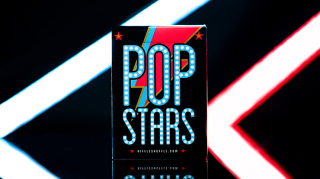 Pop Star Playing Cards by Riffle Shuffle
