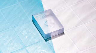 Invisible AQUA Playing Cards by MPC