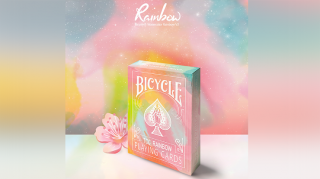 Bicycle Rainbow (Peach) by TCC