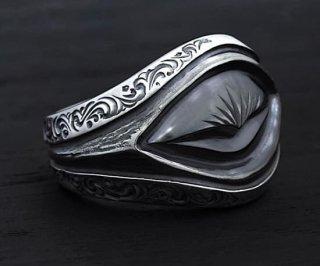 Ring/TR-03 custom Jinny's/シルバーアクセサリー/アラベスク/リング/9~30号
