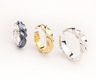 ゆらぎイヤーカフM/silver925/イヤーカフ/1個/サイズ選択可