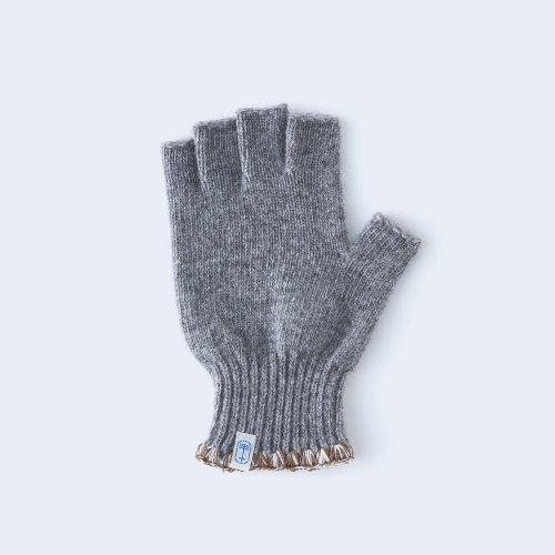 hamaguri open finger MEN gray×brown
