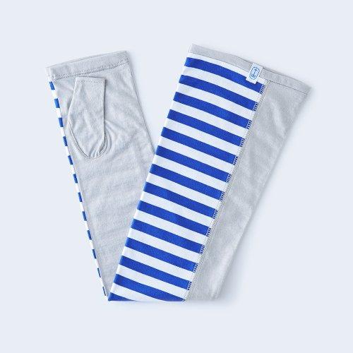 sunny cloth border blue