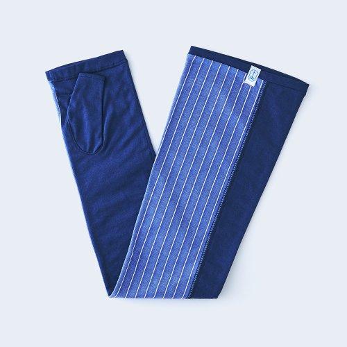 sunny cloth stripe navy