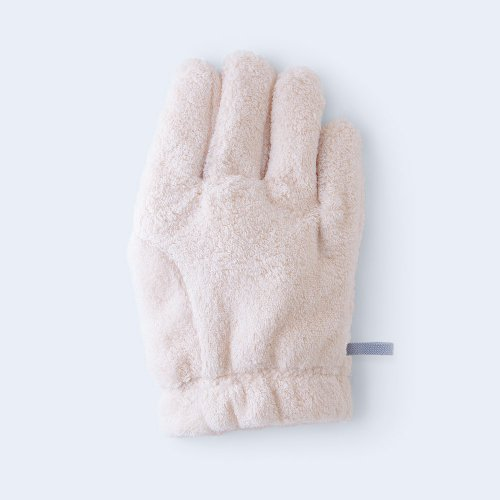 hair drying glove RIGHT pink