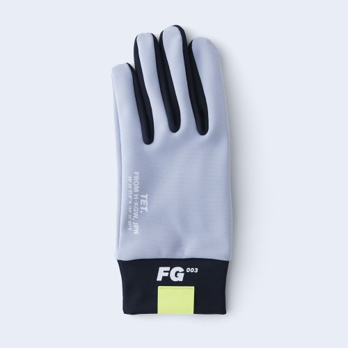 runners gloves MEN gray