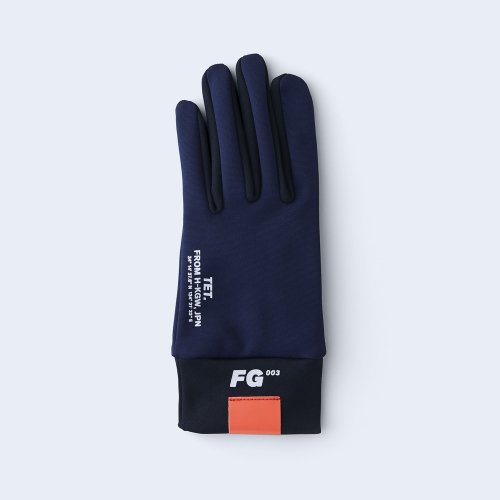runners gloves WOMEN navy