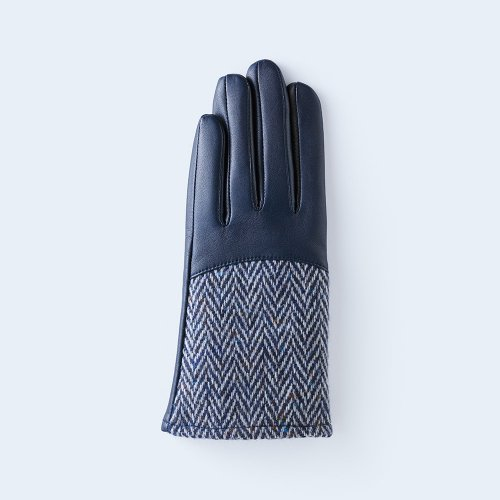 herringbone WOMEN blue