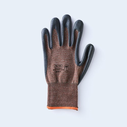 workers gloves MEDIUM brown