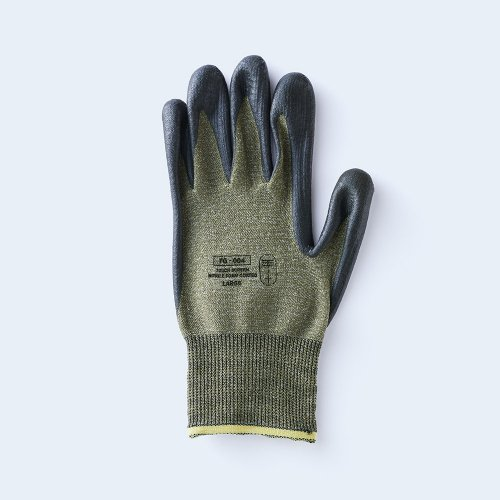 workers gloves LARGE olive