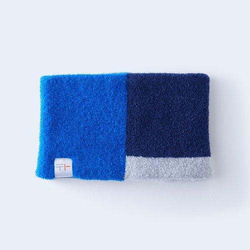 osoroi snood KIDS blue