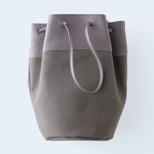 bucket bag gray