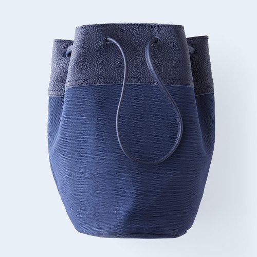 bucket bag navy