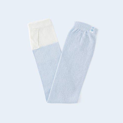 sunny knit basic cream & light blue