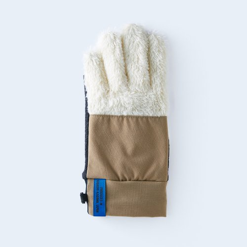 mountain fleece WOMEN white & beige