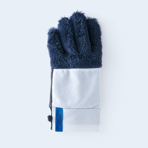 mountain fleece WOMEN navy & white