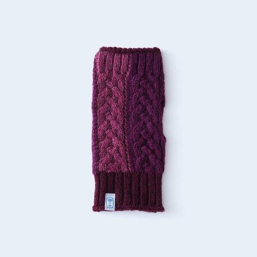 open miton WOMEN purple block