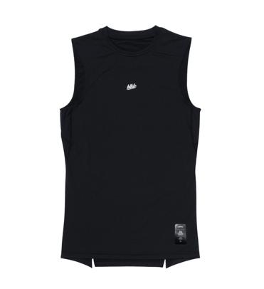 Compression No Sleeve Tops (black)