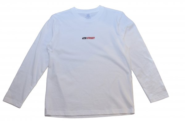 4TH STREET small logo L/S tee