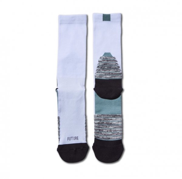 NEO FUTURE SOCKS WHITExMINT