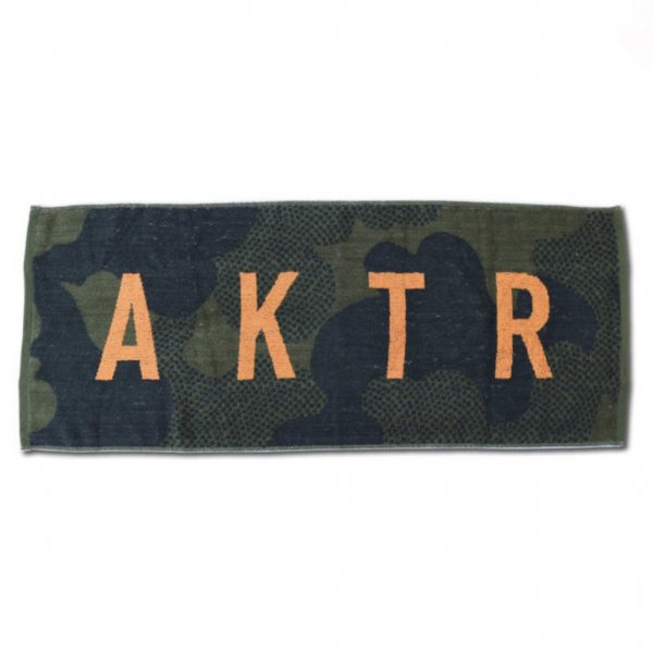 SPORTS TOWEL LOGO OLIVE