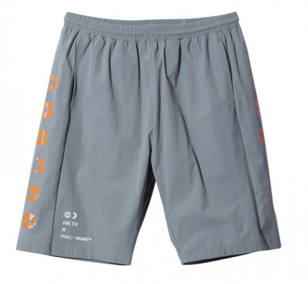 xPAC-MAN ICON SHORTS GRAY