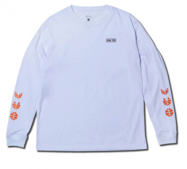 xPAC-MAN ICON L/S TEE WHITE