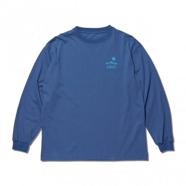 SUNRISE L/S TEE BLUE