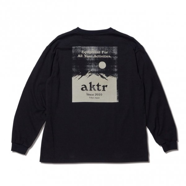 SUNRISE L/S TEE BLACK