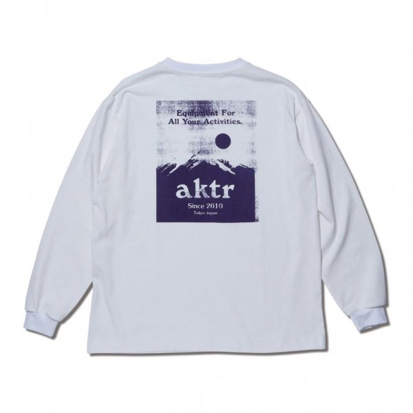 SUNRISE L/S TEE WHITE