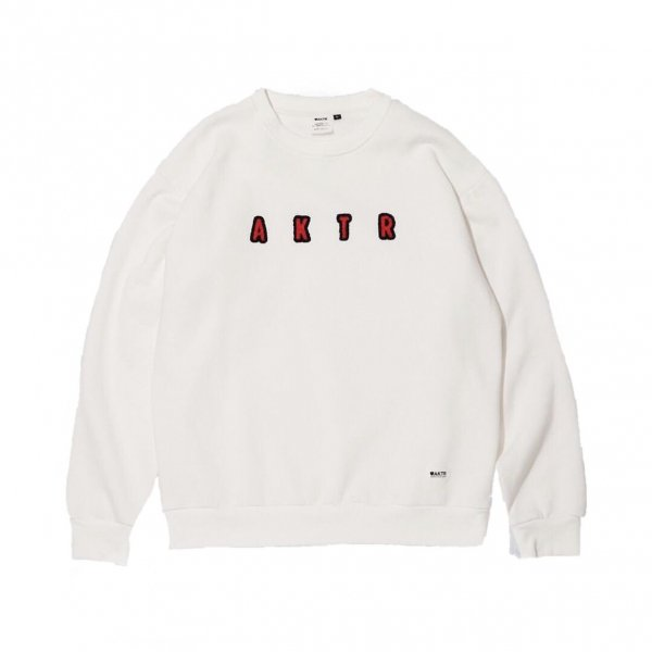 <img class='new_mark_img1' src='https://img.shop-pro.jp/img/new/icons20.gif' style='border:none;display:inline;margin:0px;padding:0px;width:auto;' />HEAVY CREWNECK SWEAT WHITE