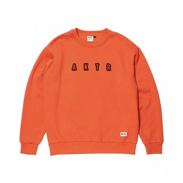 <img class='new_mark_img1' src='https://img.shop-pro.jp/img/new/icons20.gif' style='border:none;display:inline;margin:0px;padding:0px;width:auto;' />HEAVY CREWNECK SWEAT ORANGE