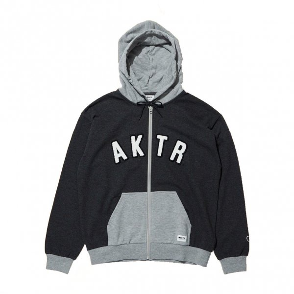 <img class='new_mark_img1' src='https://img.shop-pro.jp/img/new/icons20.gif' style='border:none;display:inline;margin:0px;padding:0px;width:auto;' />SWEAT ZIP PARKA CHARCOAL