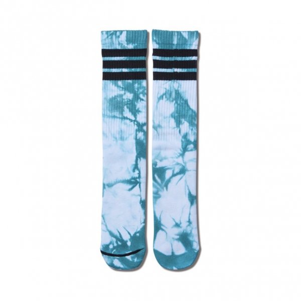 <img class='new_mark_img1' src='https://img.shop-pro.jp/img/new/icons14.gif' style='border:none;display:inline;margin:0px;padding:0px;width:auto;' />TIE DYE MONSTER SOCKS WHITExGREEN