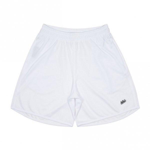Basic Zip Shorts (white/black)