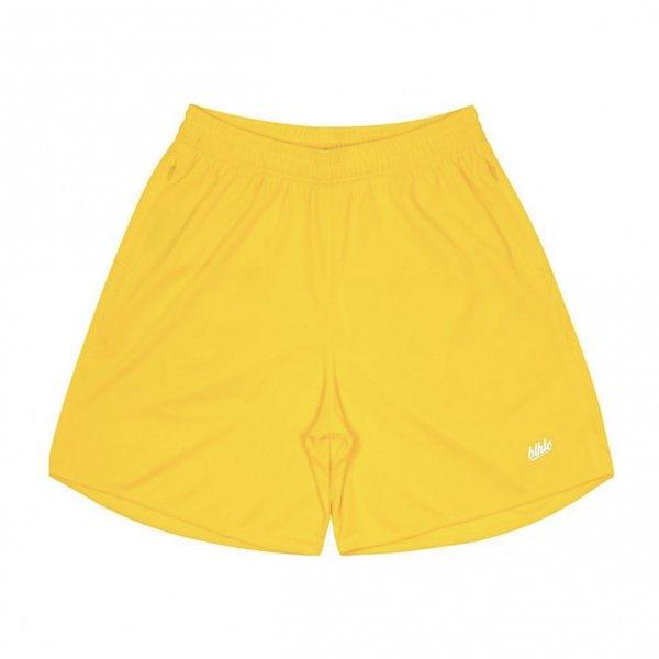 Basic Zip Shorts (yellow/white)