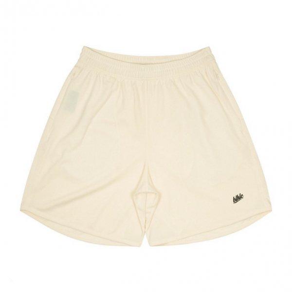 Basic Zip Shorts (ivory/black)