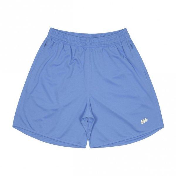 Basic Zip Shorts (azure blue/ivory)