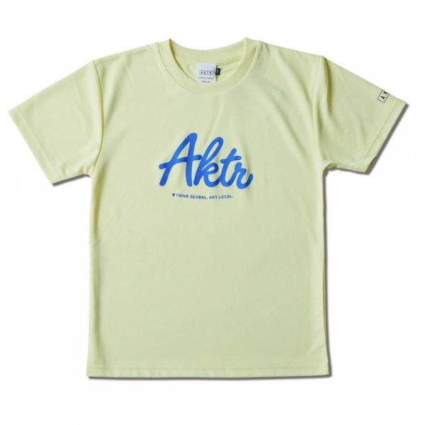 <img class='new_mark_img1' src='https://img.shop-pro.jp/img/new/icons14.gif' style='border:none;display:inline;margin:0px;padding:0px;width:auto;' />KIDS SCRIPT AKTR SPORTS TEE L-YELLOW