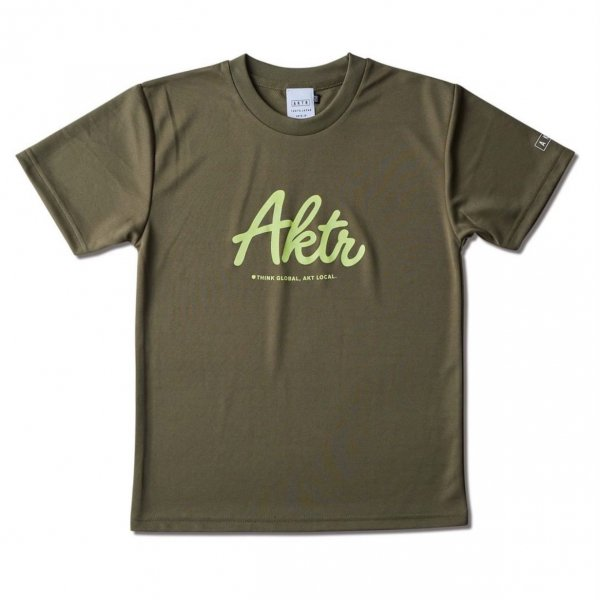 <img class='new_mark_img1' src='https://img.shop-pro.jp/img/new/icons14.gif' style='border:none;display:inline;margin:0px;padding:0px;width:auto;' />KIDS SCRIPT AKTR SPORTS TEE OLIVE